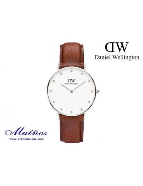 Reloj plateado Classy St Mawes Daniel Wellington 34mm