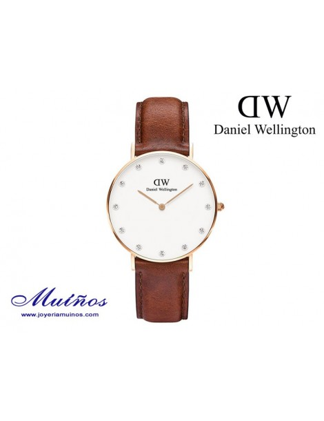 Reloj oro rosa Classy St Mawes Daniel Wellington 34mm