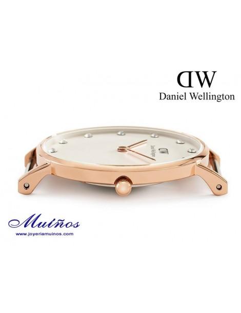 Reloj caja oro rosa Classy Daniel Wellington 34mm