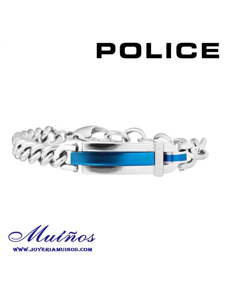Pulsera Police eslabones acero para hombre