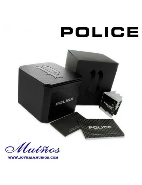 Pulsera Police hombre con calavera.