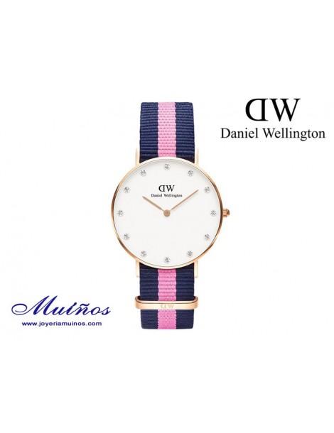 Reloj oro rosa Classy Winchester Daniel Wellington 34mm