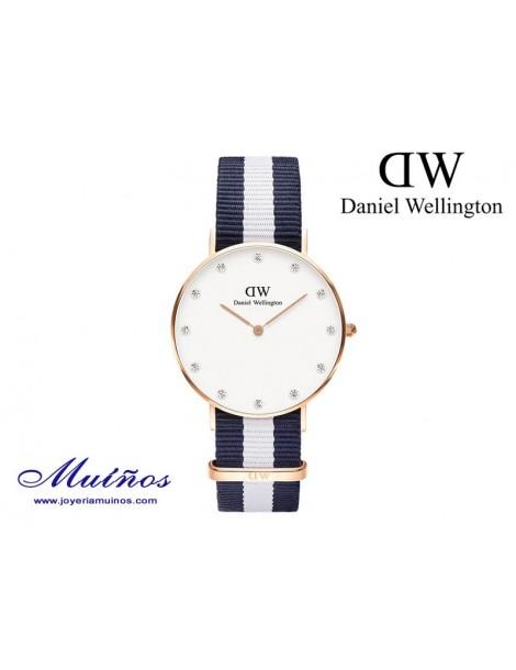 Reloj oro rosa Classy Glasgow Daniel Wellington 34mm