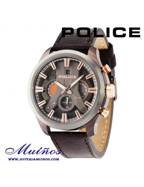 Relojes Police con diferentes colores de caja