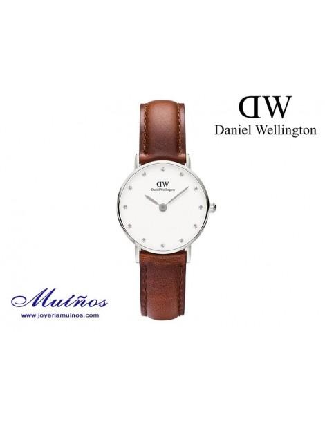 Reloj plateado Classy St Mawes Daniel Wellington 26mm