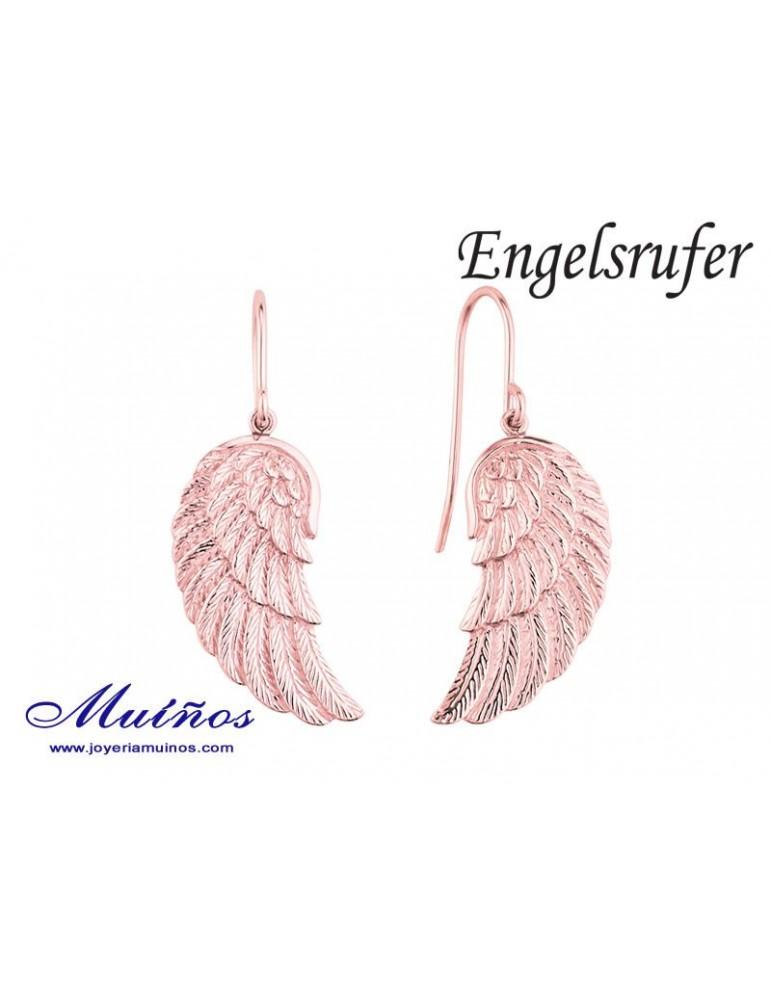 Pendientes plata bañados en oro alas de ángel Engelsrufer.