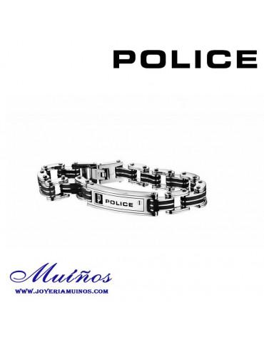 Pulsera Police acero para hombre