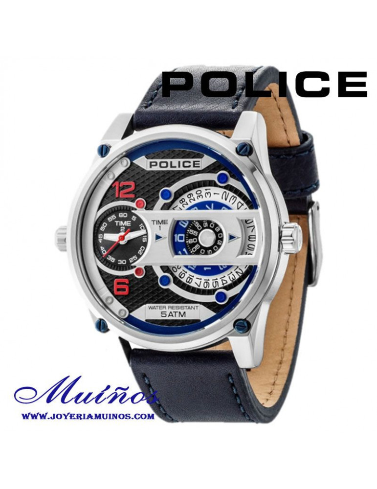 nueva llegada dd3a0 d4913 Relojes Police D-Jay hombre dual