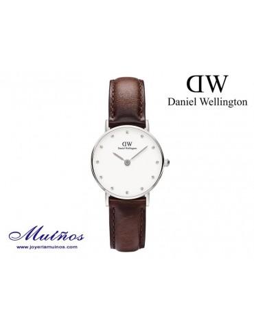 Reloj plateado Classy Bristol Daniel Wellington 26mm