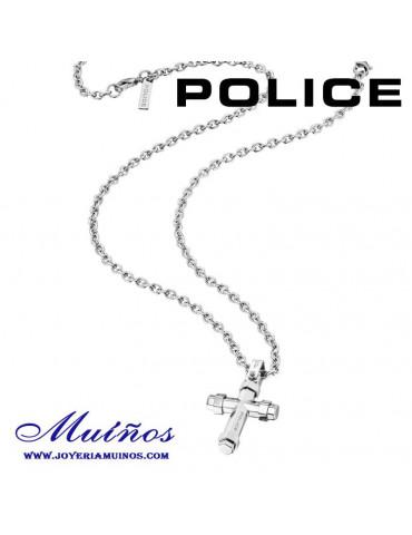 Colgante Cruz Police para hombre