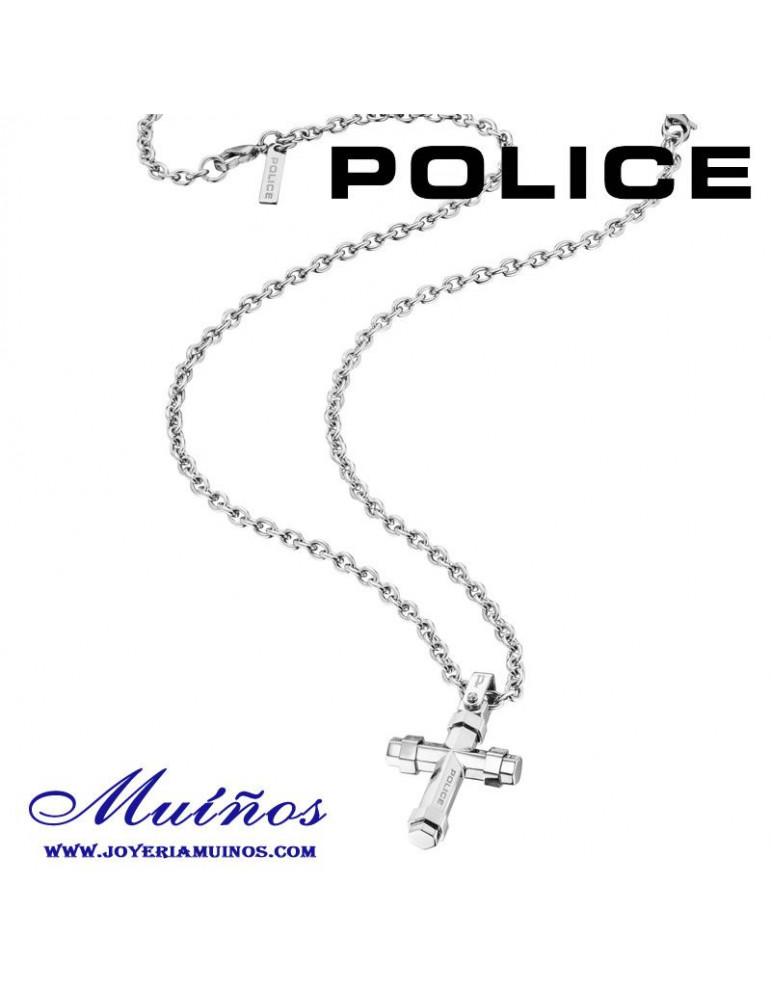 8f03be6e26a1 Colgante Acero Cruz Para Hombre de POLICE