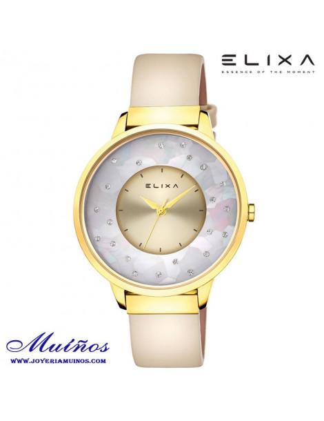 Reloj Elixa Finesse brazalete acero MILANESA