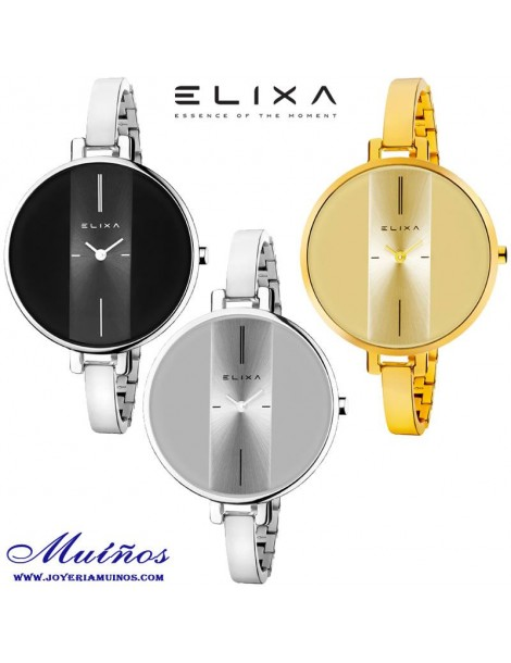Reloj Elixa Finesse mujer brazalete fino