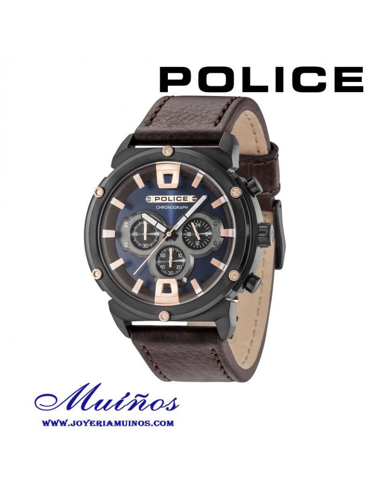 Police armor II Reloj Hombre