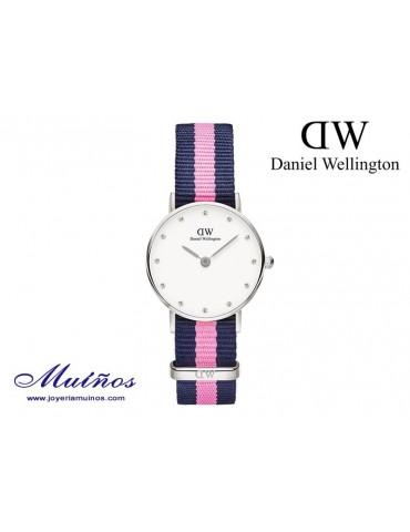 Reloj plateado Classy Winchester Daniel Wellington 26mm