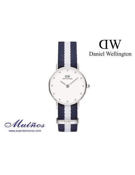 Reloj plateado Classy Glasgow Daniel Wellington 26mm