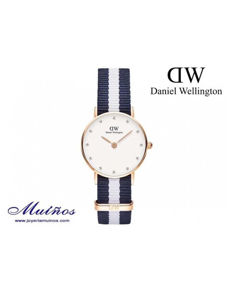 Reloj oro rosa Classy Glasgow Daniel Wellington 26mm
