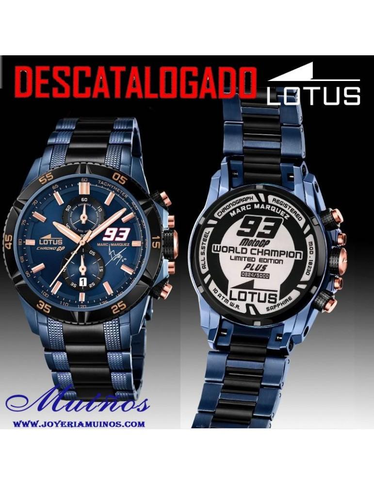 a6c5fe6f32e5 El Reloj Lotus Edición Limitada de Marc Márquez.