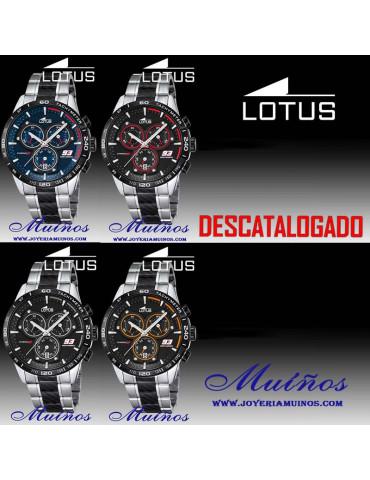 Reloj Lotus Marc Márquez hombre crono