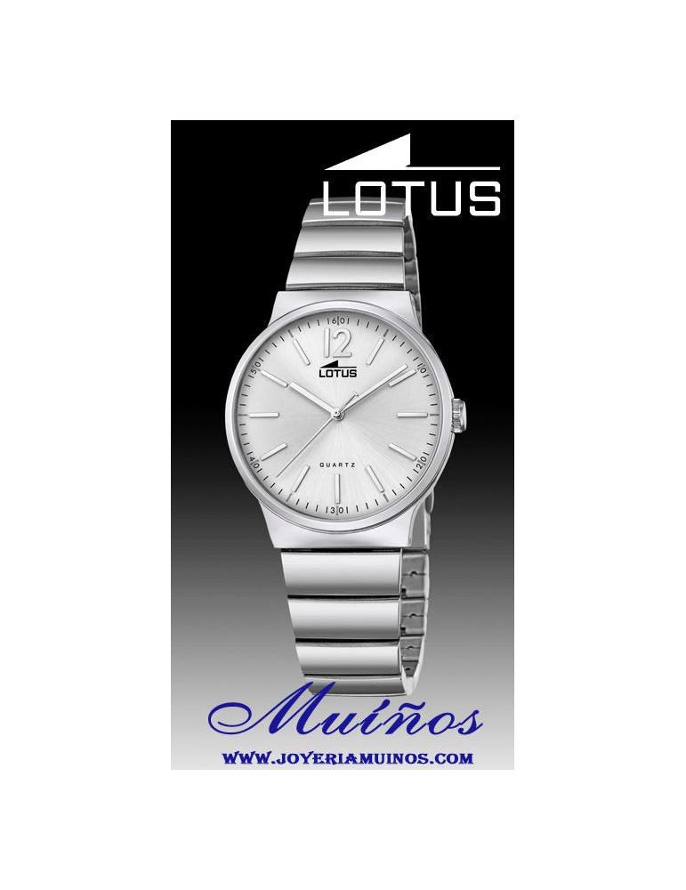 Reloj Lotus The Couple Parejas chica acero colores