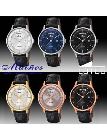 Reloj Lotus The Couple Parejas acero colores