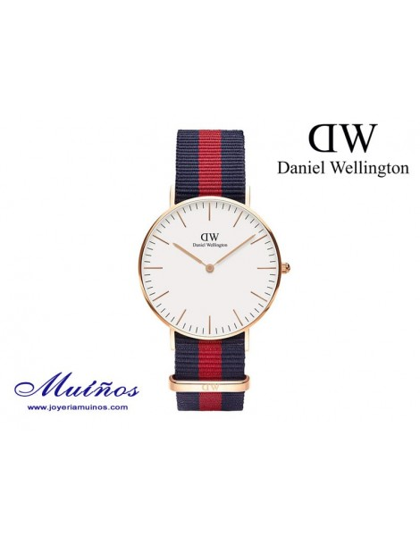 Reloj oro rosa Classic Oxford Daniel Wellington 36mm