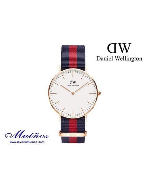 Reloj oro rosa Classic Oxford Daniel Wellington 36mm