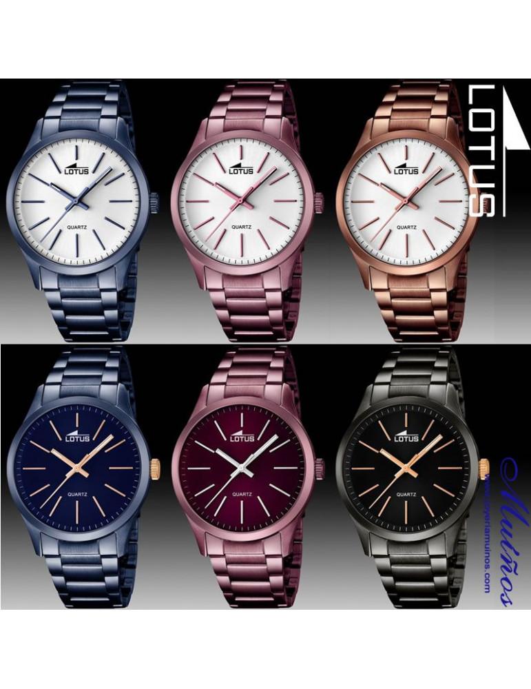 Relojes azules para hombre. Lotus Smart Casual 9a308df79f97