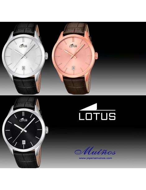 reloj lotus minimalist hombre