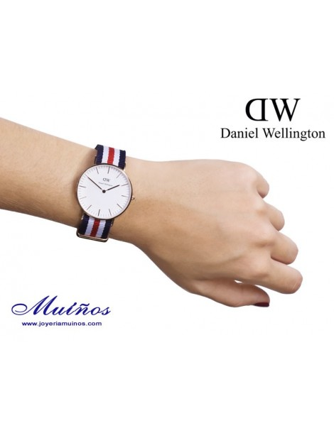Reloj  Classic Canterbury Daniel Wellington 36mm