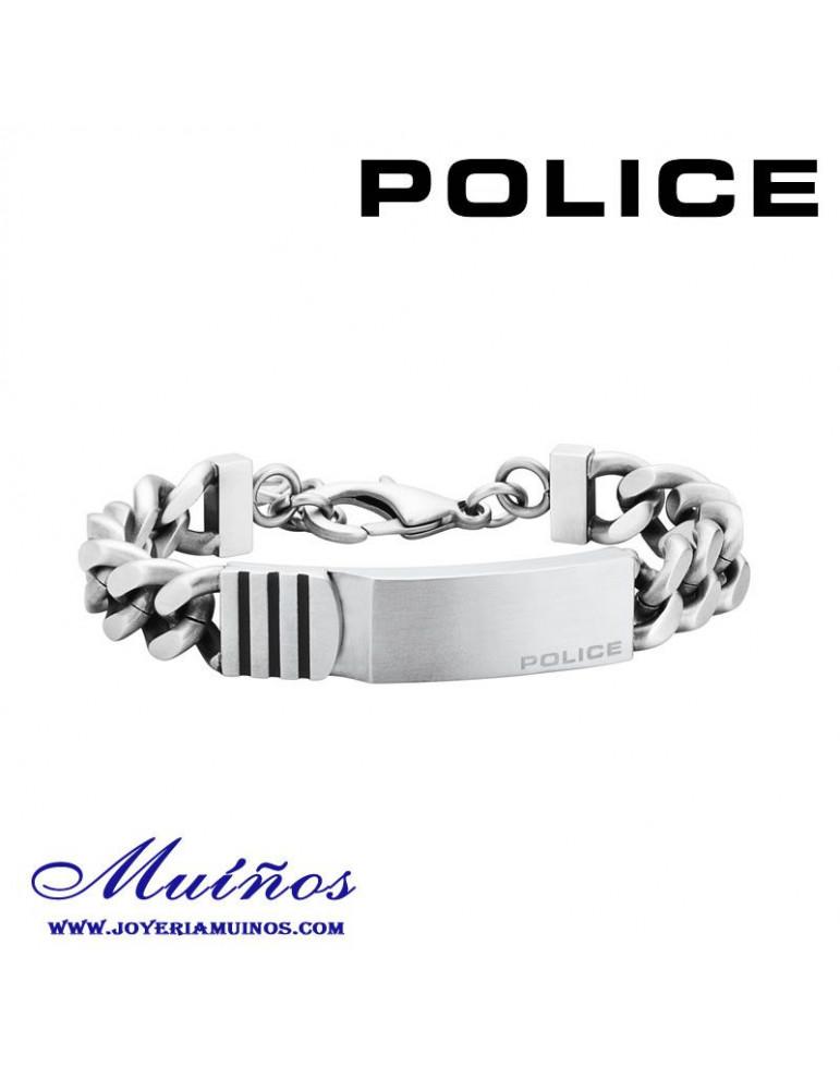 Pulsera Police Hombre Acero