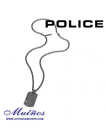 Colgante Police acero hombre