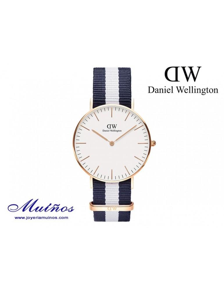 Reloj oro rosa Classic Glasgow Daniel Wellington 36mm