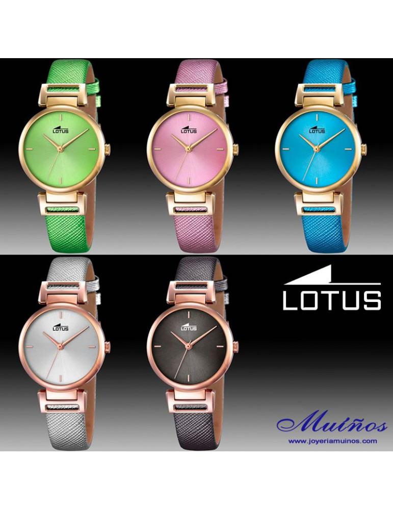 Relojes Trendy para mujer Lotus