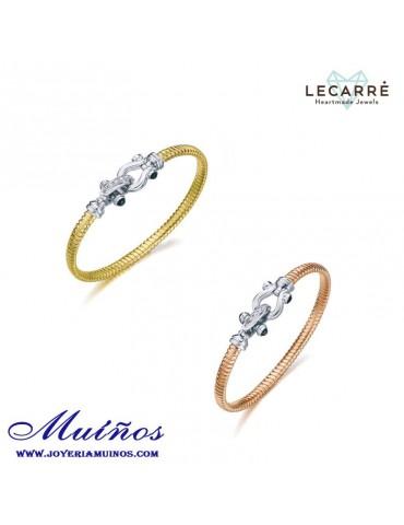 Pulseras LeCarré Marineras de Plata bañadas en oro u oro rosa