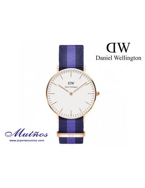 Reloj oro rosa Classic Swansea Daniel Wellington 36mm
