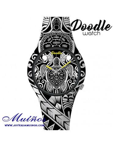 Reloj Tatuaje TORTUGA DOODLE