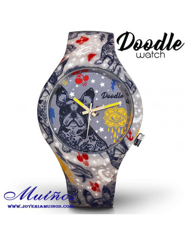 Reloj Tatuaje Bull Dog Francés