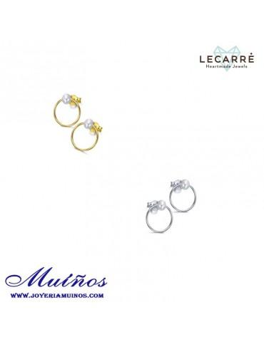 Pendientes plata con perla cultivada LeCarré