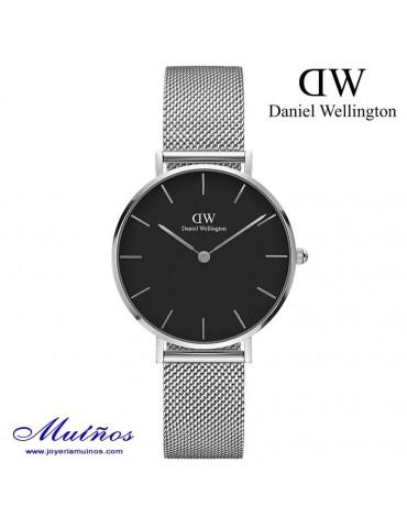 Reloj Classic Petite Sterling 28mm o 32mm mujer Daniel Wellington