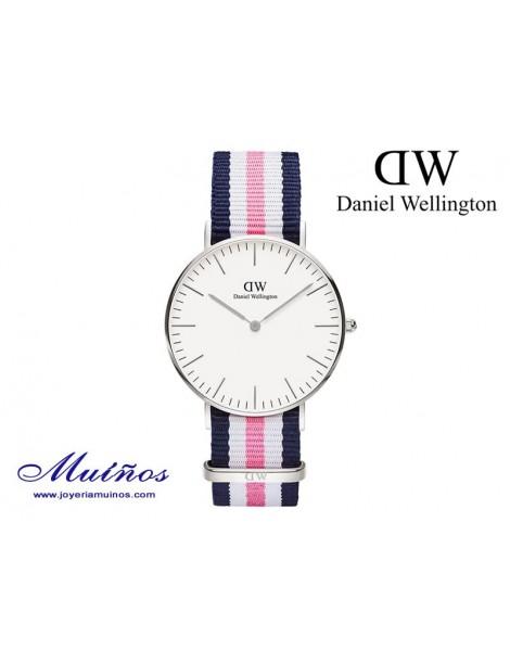 Reloj plateado Classic Southampton Daniel Wellington 36mm