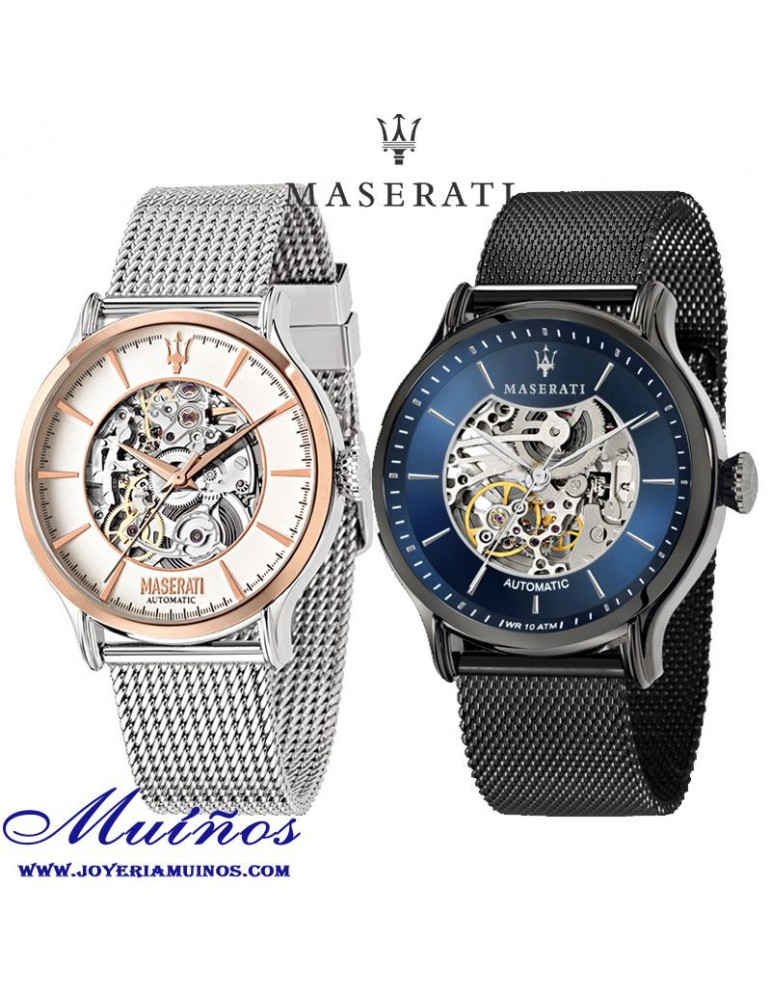 Reloj Maserati automático hombre