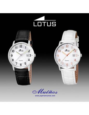Relojes Lotus Clásico con correa para mujer.