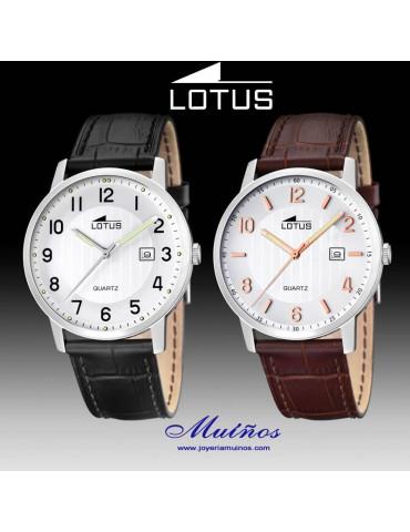 Relojes Lotus Clásico con correa para Hombre.