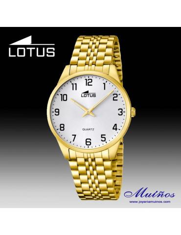 Reloj Lotus Clásico para hombre acero