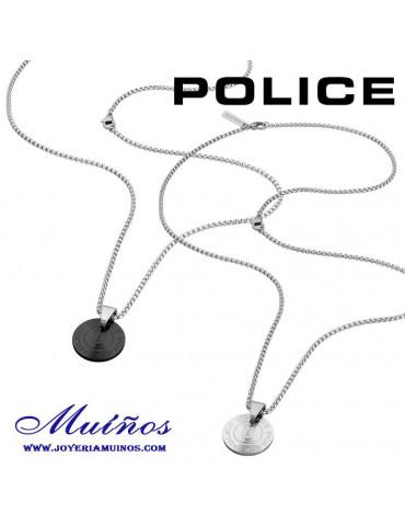 Colgantes Police Pontevedra chapa redonda