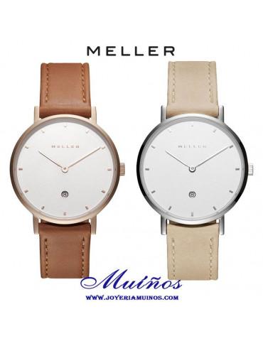 Reloj Mujer Meller Astar 34mm Piel