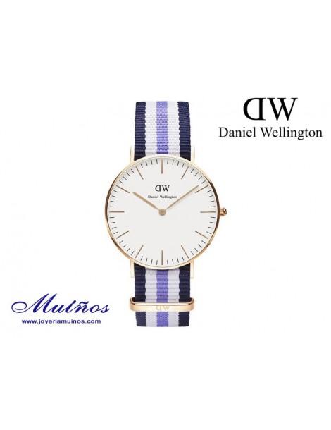 Reloj oro rosa Classic Trinity Daniel Wellington 36mm