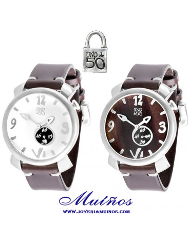 Reloj Uno de 50 mujer es la hora