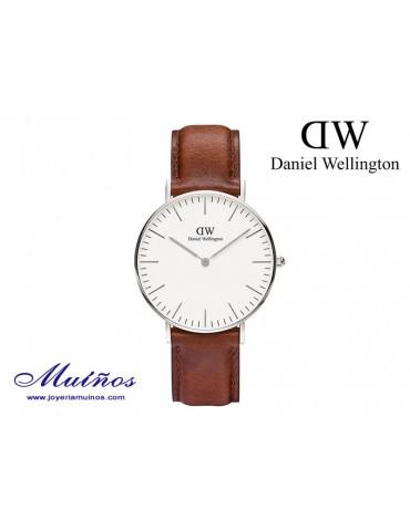 Reloj plateado Classic St Mawes 36mm mujer Daniel Wellington